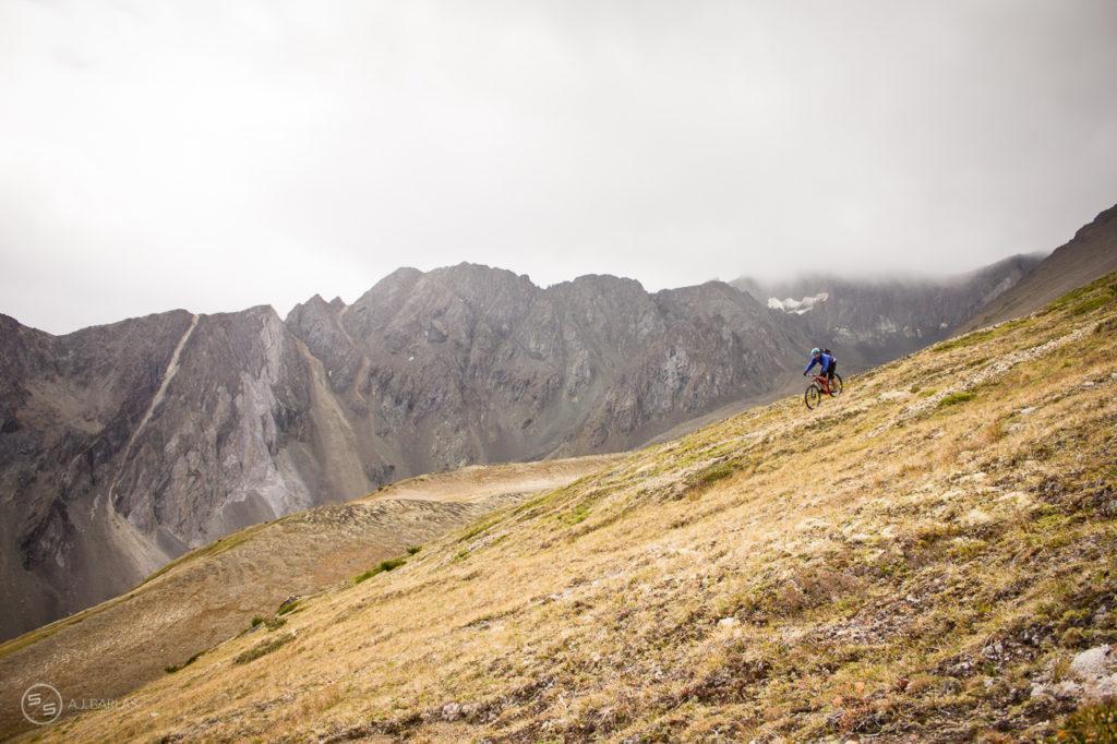 Dave Reid Descends the High Alpine