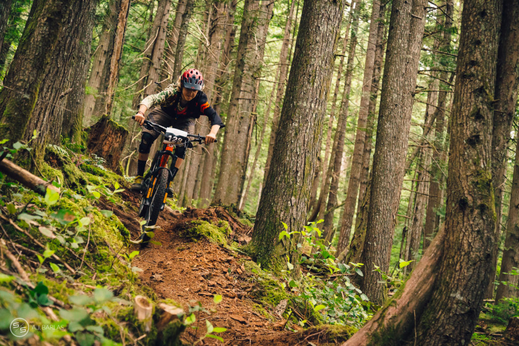 Junior racers hit the 2015 Squamish Enduro hard