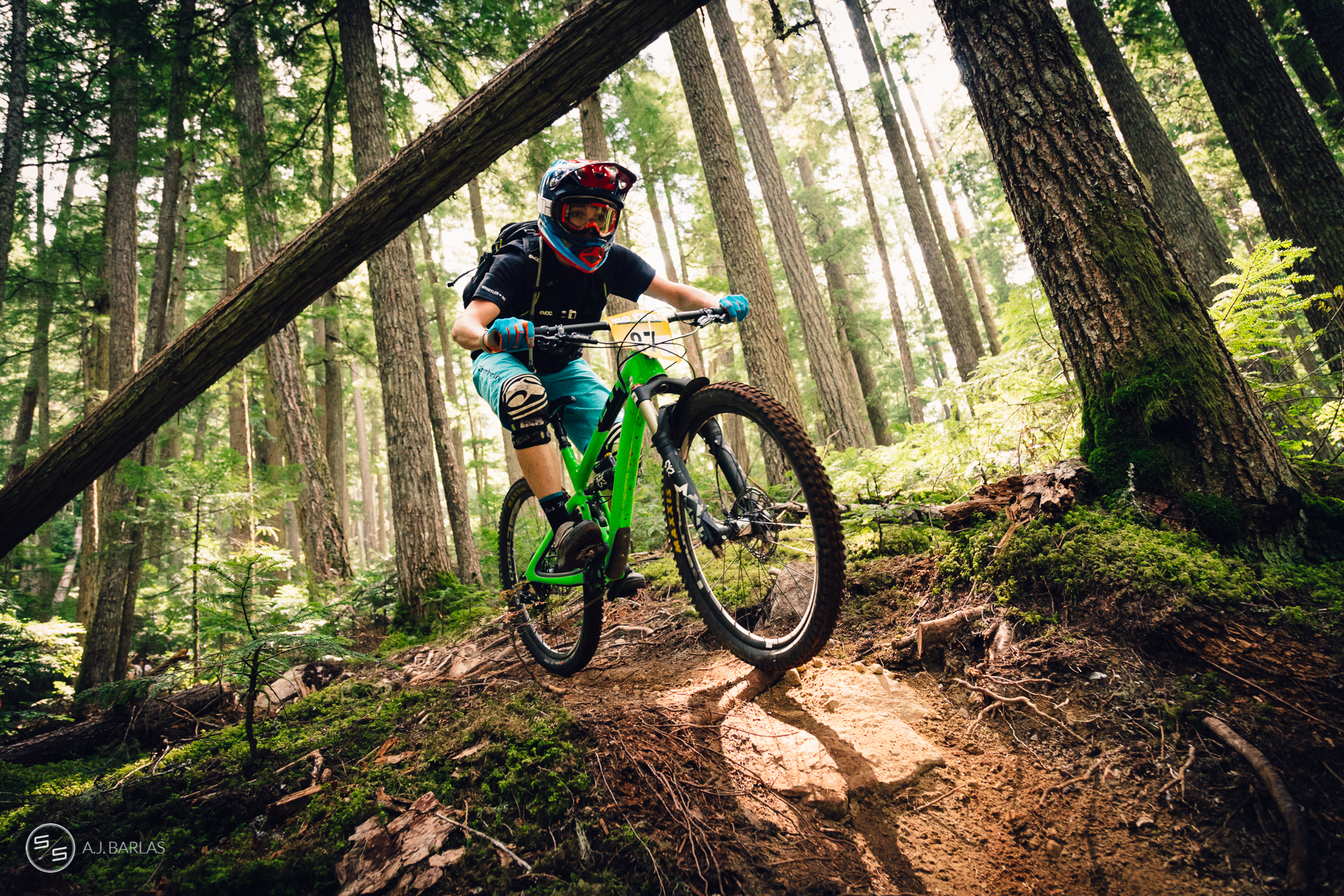Leonie Picton racing the Whistler NAET