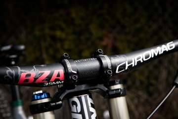 Chromag 35mm bar and stem. Shot by Stephen Li
