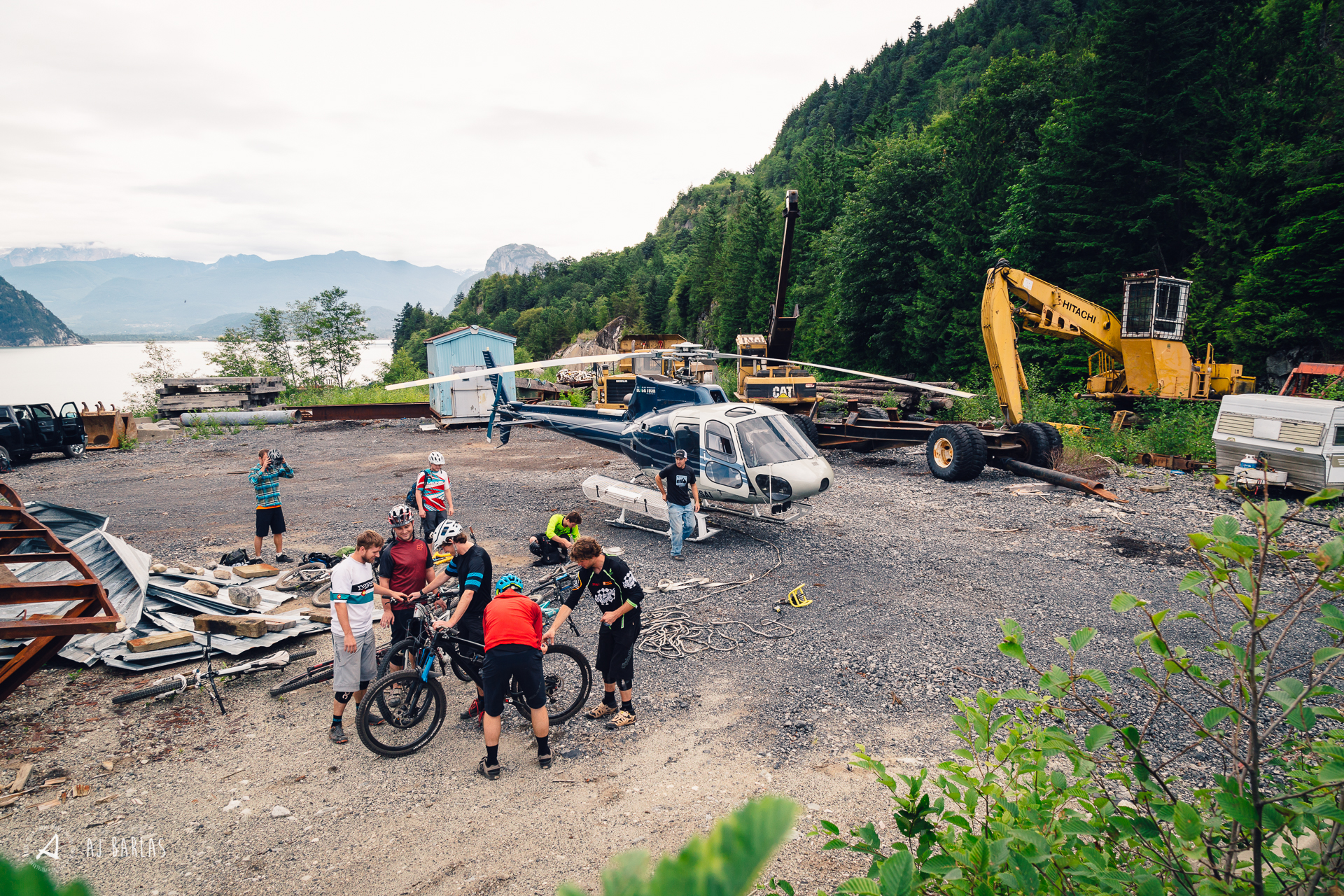 Heli-bike uplift prep