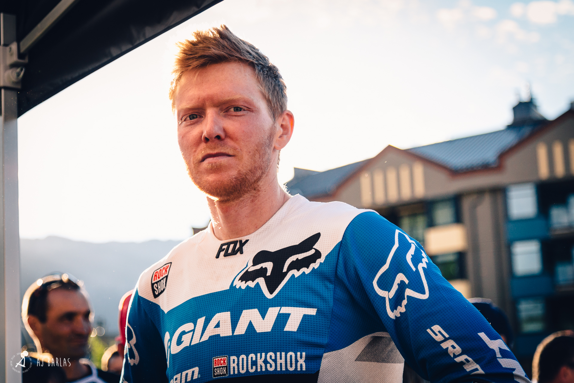 Josh Carlson lost thanks to a flat on the final stage