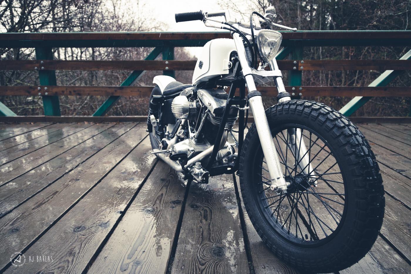 Todd Schumlick's custom 1975 Harley Davidson Period Incorrect Shovelhead