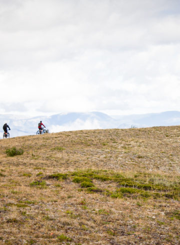 High Alpine Riding in BC's Coast Mountains