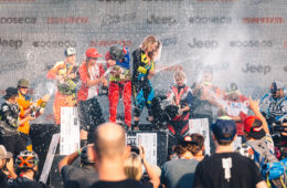 Crankworx Canadian Open DH 2015 Podium