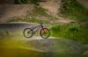 Transition PBJ Bike at Squamish Casino Pumptrack. Shot by A.J. Barlas